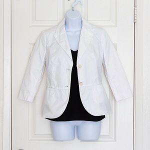 Esprit - White Cotton Blazer